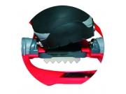 Fijación Step-in puntera de las raquetas composite de TSL