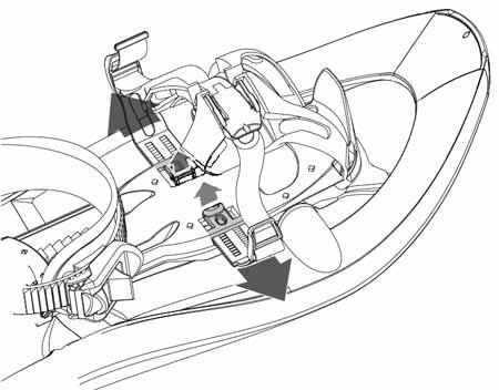 Ajuste lateral de las raquetas composite de TSL