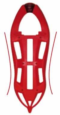 Talla avispa de las raquetas composite deTSL