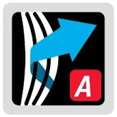 Logo del sistema de suspensión Aeroflex Easy Adjust en mochilas Vaude