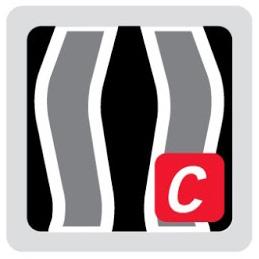 Logo del sistema de suspensión Vent-Tex de mochilas Vaude