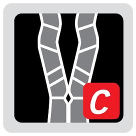 Logo del sistema de suspensión VFlex de mochilas Vaude