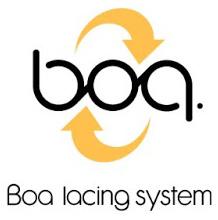 Logo de la tecnología BOA de mochilas Vaude