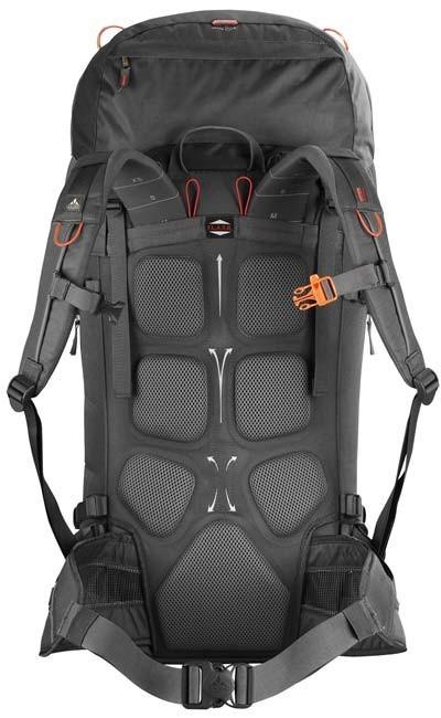 Respaldo de la mochila Vaude Rock 45+10