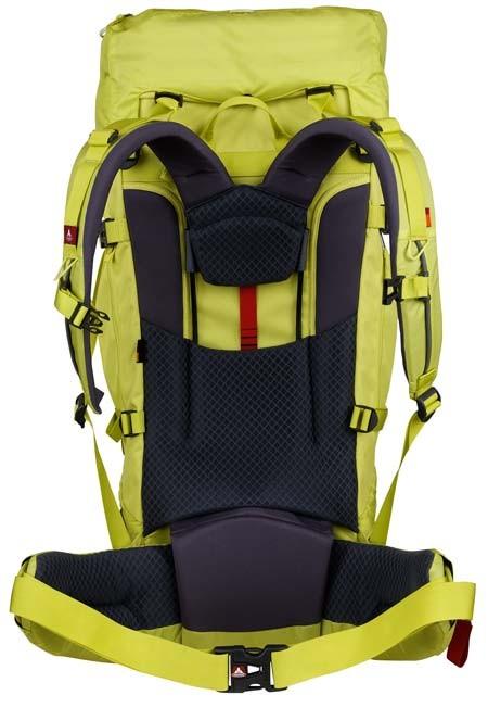 Vaude Terkum 65+10 II Backpack Backing