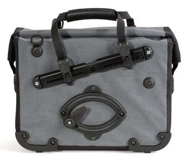 Sistema de anclaje Ortlieb Quick-Lock2 en la alforja Officebag