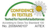 Certificado OEKO-TEX® de Trangoworld