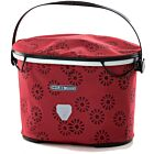 Ortlieb Up Town Design handlebar bag floral red