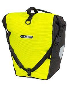 Ortlieb Back Roller High Visibility saddlebag yellow