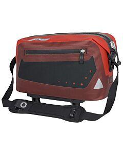 Bolsa trasera Ortlieb Trunk Bag rojo señales y dark chili