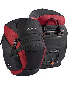 Vaude OnTour Back bike bag black/carmine (red)