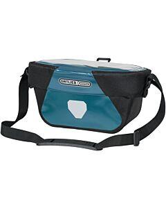 Bolsa de manillar Ortlieb Ultimate Six Classic 5L petrol-black (azul)