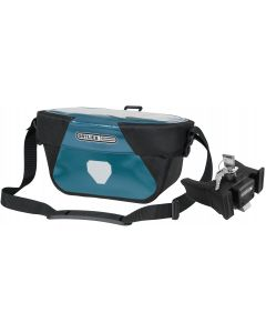 Ortlieb Ultimate Six Classic 5L handlebar bag petrol-black (blue) with fixation