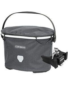 Ortlieb Up Town Urban handlebar bag pepper (gray) with fixing