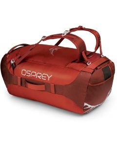 Bolsa de viaje Osprey Transporter 95 ruffian red (rojo)