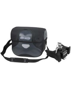 Ortlieb Ultimate Six Classic 8.5L asphalt and black handlebar bag