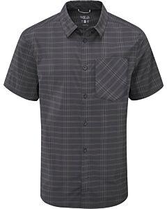 Camisa Rab Mello SS Shirt ebony (negro)