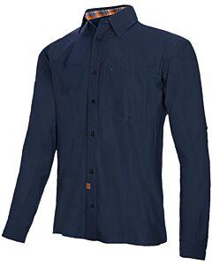 Camisa Trangoworld Vignemale azul