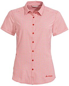 Camisa Vaude Women's Seiland Shirt III mars red (rojo)