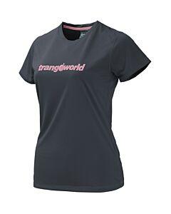 Trangoworld Kewe DT ebony and purple t-shirt