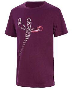 Trangoworld Sangons Kid purple T-shirt