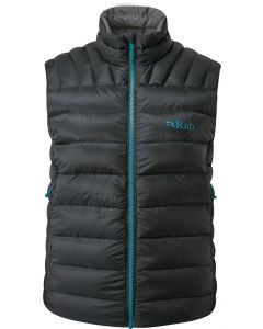 Chaleco Rab Electron Pro Vest mujer beluga (negro)