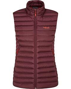 Chaleco Rab Microlight Vest mujer deep heather (morado)