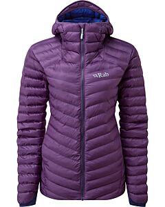Rab Cirrus Alpine Jacket women blackcurrant (purple)