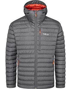 Rab Microlight Alpine jacket men graphene (gray)