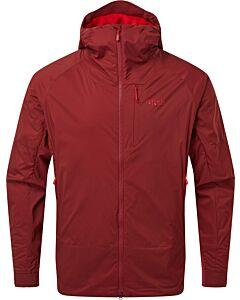 Chaqueta Rab VR Summit Jacket hombre oxblood red (rojo)
