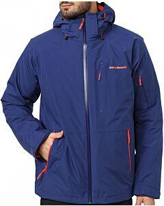Trangoworld Malebo Complet blue print jacket (blue)