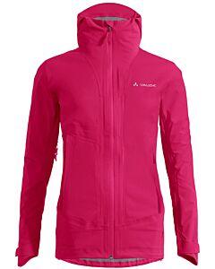 Vaude Women's Croz 3L Jacket III bramble (red)