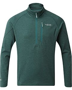 Rab Nucleus Pull-On men's fleece pine (green)