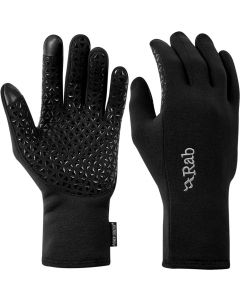 Guantes Rab Power Stretch Contact Grip Glove hombre black (negro)