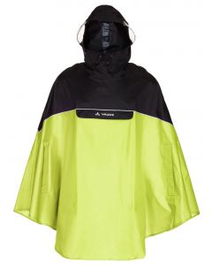 Impermeable Vaude Covero Poncho II lemon (verde)