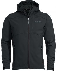 Chaqueta Vaude Men's Miskanti Softshell Jacket II phantom black (negro)