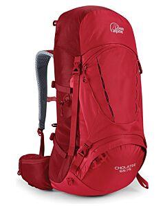 Lowe Alpine Cholatse 65 backpack: 75 oxide / auburn (red)