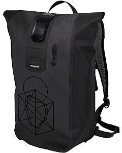 Ortlieb Velocity Design backpack symmetry black matt (black)