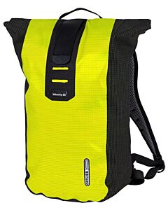 Ortlieb Velocity High Visibility backpack neon yellow / black reflective (yellow and black)