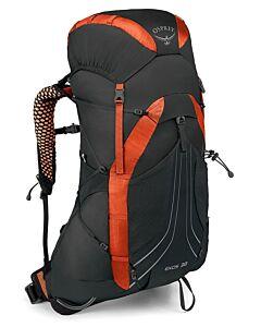 Mochila Osprey Exos 38 blaze black (negro y naranja)