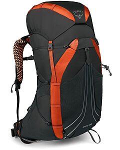 Mochila Osprey Exos 58 blaze black (negro y naranja)