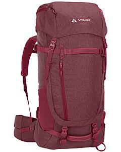 Vaude Women's Astrum EVO 55+10 backpack prunella (red)