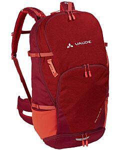 Vaude Bike Alpin 25+5 backpack salsa (red)
