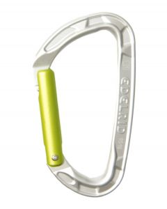 Mosquetón Edelrid Pure Straight silver (gris)