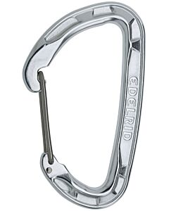 Mosquetón Edelrid Pure Wire silver (gris)