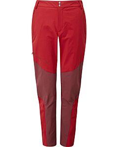 Pantalón Rab Torque Mountain Pants Wmns mujer crimson (rojo)