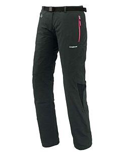 Pantalón Trangoworld LLanz negro (cremallera rosa)