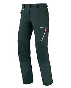 Pantalón Trangoworld Uhsi Extreme DS negro (cremallera rosa)