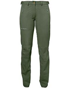 Pantalón Vaude Farley Stretch Pants II mujer cedar wood (verde)