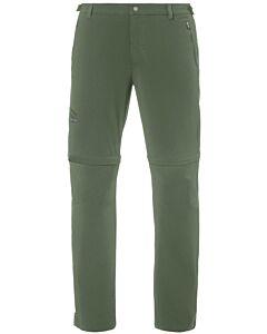 Pantalón Vaude Farley Stretch T-Zip Pants II hombre cedar wood (verde)